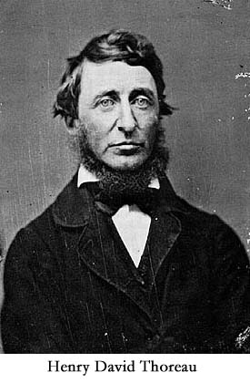 What did Franklin and Thoreau have in common?